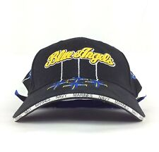 Blue Angels Navy Marines Black Baseball Cap Hat Adjustable Adult Size Cotton