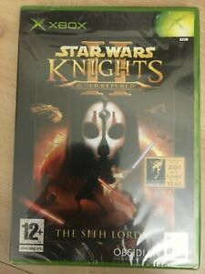 XBOX Star Wars Knights of the Old Republic II The Sith Lords - NEW SEALED