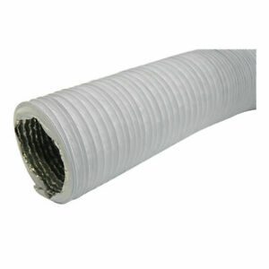 Multi-Layered Flexible Duct Hose100mm /1m PVC Wire Reinforced Vent Pipe