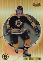 1998-99 BOWMAN BEST REFRACTOR 371/400 JOE THORNTON NO:84        a