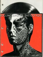 Rolling Stones - Tattoo You ring bound note book.  Unused.