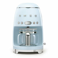 Smeg 50's Retro Style Aesthetic Drip Coffe Machine, Pastel Blue