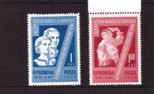 Romania MNH 1959 World Youth Festival set mint stamps