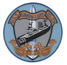 USS SIMON LAKE AS 33 Parking Sign U S Navy USN Military
