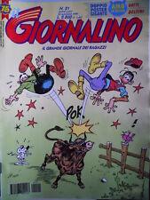 Giornalino n°21 1999 Bellocchio & Leccamuffo - Gli ARistocratici GIORGIA [G.287]