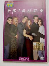 DVD Film Friends Le grandi serie Tv Sorrisi e Canzoni Stagione 5 Episodi 13-18