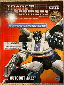 Transformers Jazz TRU Commemorative Series III Re-Issue G1 MISB Hasbro