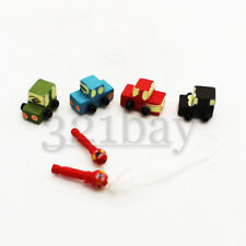 Miniature Wooden Toys for Dollhouse 1:12 Scaled Wood Toy Car 1 Inch Scaled 12th