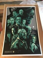 BREAKING BAD Ken Taylor Art Poster RARE Print Limited Numbered 270/300