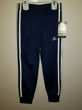 🟢 New Adidas Unisex White / Red  Stripe Tricot soccer Jogger Sweat Pants AK5364