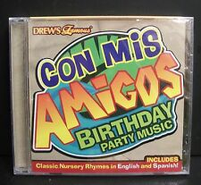 NEW DREW'S FAMOUS CON MIS AMIGOS BIRTHDAY PARTY MUSIC SPAINISH NURSERY RHYMES