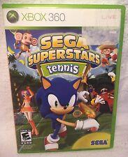 Sega Superstars Tennis Sonic The Hedgehog Xbox 360 Game Tested