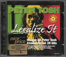 CD ALBUM 10 TITRES--PETER TOSH--LEGALIZE IT--1999