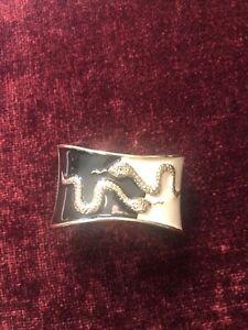 Metal Snake Cuff Bracelet