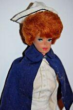 VINTAGE Barbie TITIAN Bubble Cut REDHEAD Doll NURSE Factory Hair Set 1960s