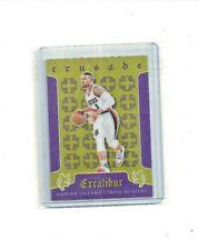 2015-16 Panini Excalibur Crusade PURPLE #58 Damian Lillard * SP serial #'d 39/60