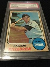 1968 Topps Harmon Killebrew #220 PSA 9 MINT (Old Label)