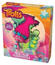Cardinal Trolls Floor Puzzle with Hair (49 Piece) Authentic Brand New