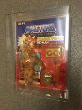 Masters del universo THUNDER PUNCH HE MAN FIGURE 1983 Moc Juguete Amos del universo Entubado