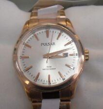 Brand New Elegant Pulsar Ladies' Dress Watch - Rose-Gold PH7370X (VJ22-X167)