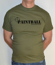 PAINTBALL,PAINTBALLING,MILITARY,ARMY,FUN T SHIRT