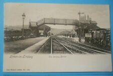 More details for wrench postcard posted 1907 the railway station kirton-in-lindsey lincolnshire