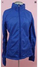 Lululemon Rush Hour Hooded Wind Rain Jacket Bright Blue W/O tags Size 2