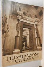 L ILLUSTRAZIONE VATICANA 1 15 novembre 1935 Centrale elettrica Arazzi Vaticano