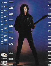 JOE SATRIANI FLYING IN A BLUE DREAM CASSETTE ALBUM UK ISSUE Hard Rock Heavy Meta
