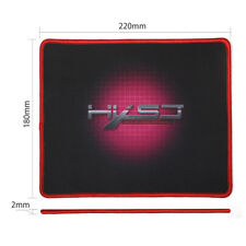 180 x 220mm Gummi Gaming Mauspad Genau MousePad Anti Slip Mice Mat PC Computer