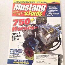 Mustangs & Fords Magazine Rear Disc Brake Conversion February 2004 062517nonrh2