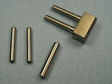 Ruger 10/22 V-Block Set. Stainless V Block And Screws, Carbon Steel Pins, USA
