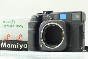 【MINT in BOX w/ STRAP】 Mamiya 7 II BLACK Rangefinder Film Camera Body from JAPAN