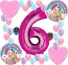 JOJO SIWA Party Supplies Birthday Balloon Decoration Bundle For 6th