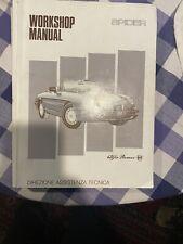 1991-1994 Alfa Romeo Spider Workshop Manual