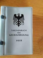 Taschenbuch für wehrausbildung