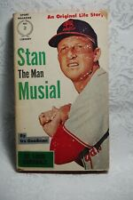 Stan The Man Musial Paperback Book by Irv Goodman Sport Magazine