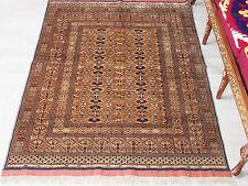 180x125 cm super-feine Qualität Seiden Afghan orientteppich Silk Rug Carpet 86
