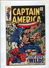 CAPTAIN AMERICA #106 (7.0) CAP GOES WILD!