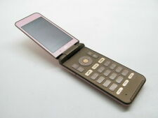 KYOCERA GRATINA 4G KYF31 KEITAI sim free FLIP PHONE PINK JAPAN