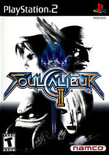 Soul Calibur II (2003) Brand New Factory Sealed Black Label USA Playstation PS2