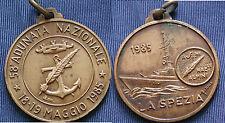 MEDAGLIA A.N.A. 58.a ADUNATA NAZIONALE DEGLI ALPINI A LA SPEZIA 1985 - BRONZO #1