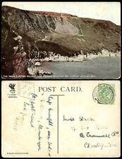 ISLE of MAN 1906 PPC SNAEFELL SUMMIT MOUNTAIN CACHET MANX RAILWAY