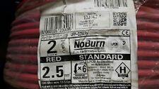 100 MTS RED NO BURN PLATIMUM 2.5mm 2 CORE +CPC