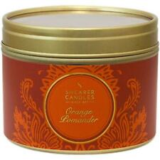 Shearer Candles Home, Small Scented Tin Candle, Pomander, Orange, 20 Hour, 47mm