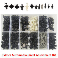 350pcs Car Door Push Pin Rivet Trim Clip Panel Weatherstrip Moulding Assortments
