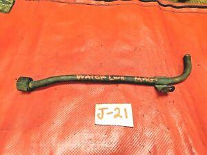 MG Magnette, Heater Steel Water Line, Original, !!