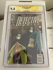 KEY 1ST STEPHANIE (SPOILER) Detective Comics #647 NEWSSTAND CGC 9.4 NM Signed