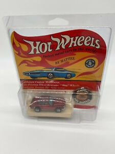 1969 Hot Wheels Redline Red Mercedes-Benz 280SL New MOC