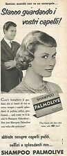W8674 Shampoo PALMOLIVE  - Pubblicità del 1958 - Vintage advertising